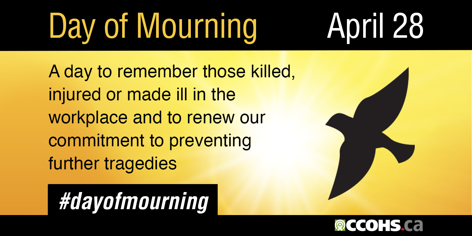Day of Mourning - April 28