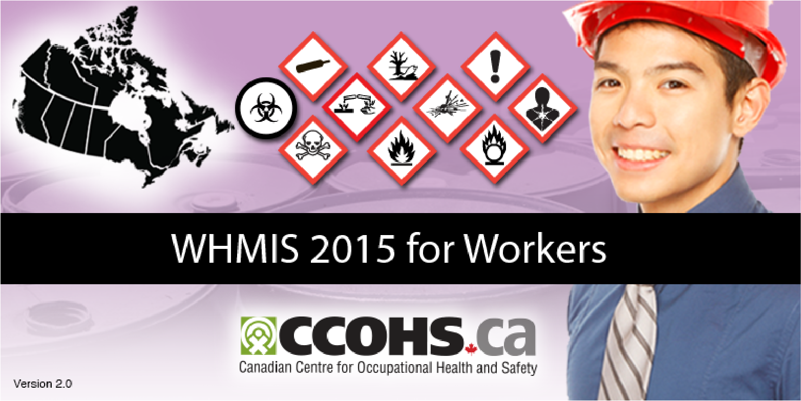 WHMIS 2015 for Workers collage