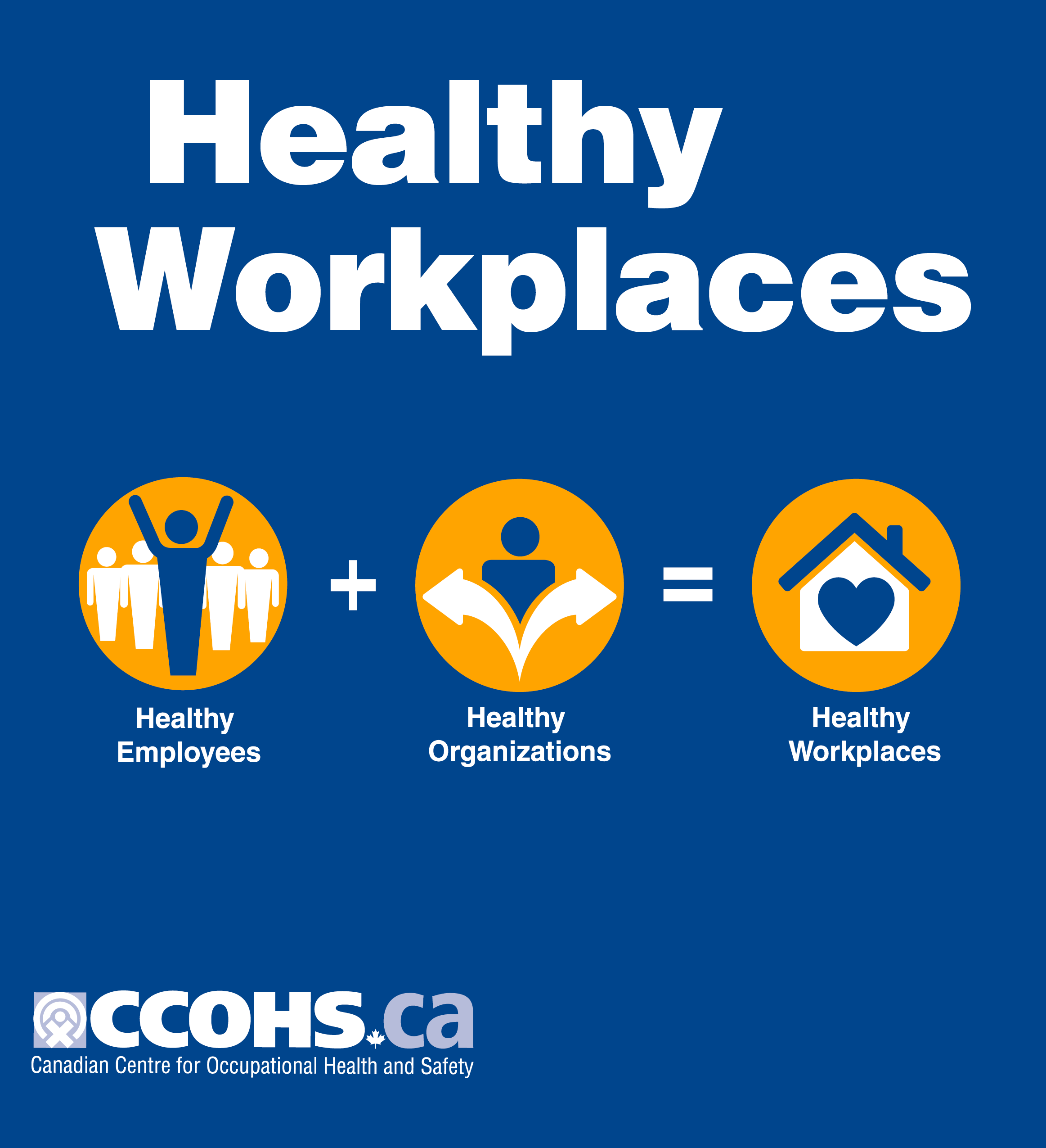 Healthy Workplaces poster's image