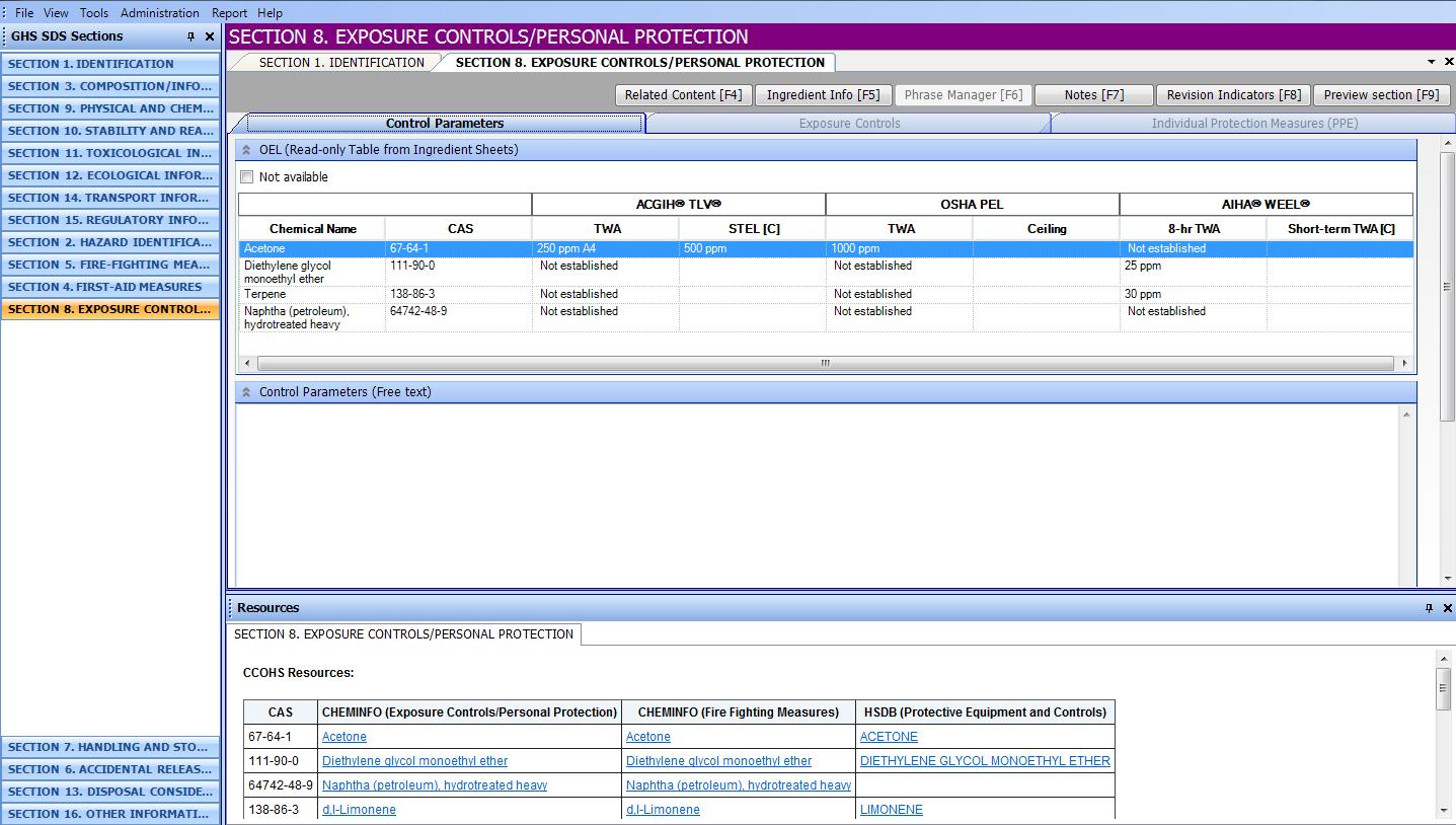 Second SDS screenshot