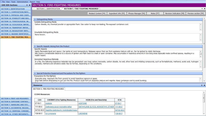 Third SDS screenshot