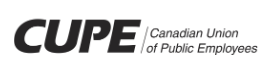 CUPE website