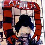 Workers Memorial Day Stained Glass Window