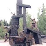 Le monument à la memoire des mineurs