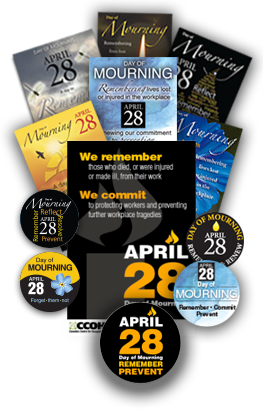 Day of Mourning - April 28. Remember and Renew