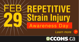 Learn more about Repetitive Strain Injury Awareness Day (Feb 28).