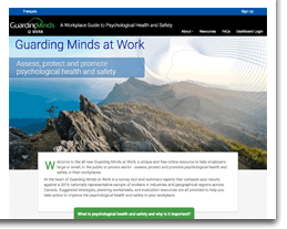 Visit Guarding Minds @ Work