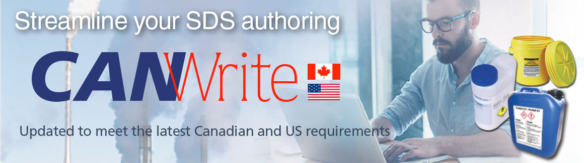 tab 5 CANWrite: Streamline your SDS authoring
