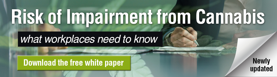 tab 1 Free white paper: The risk of impairment from cannabis and what workplaces need to know