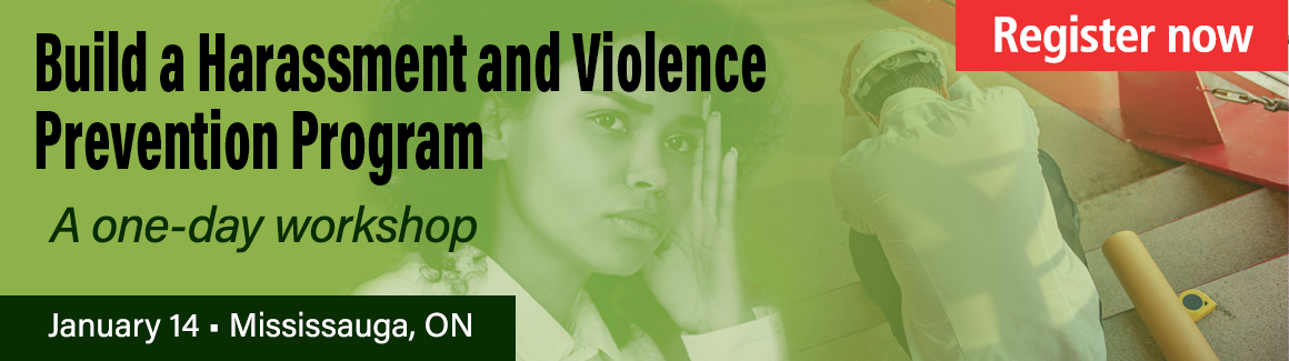 tab 1 Harassment and Violence Prevention Starts with Civility and Respect: take our one-day workshop