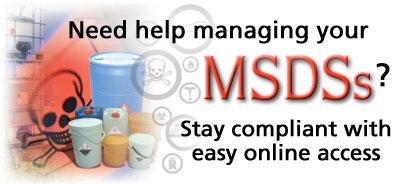 Image: MSDS Management Service