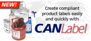 New! Create complient product labels easily and quickly with CANLabel