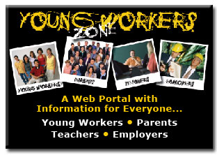 Young Workers: A Web Portal with Information for Everyone: Young Workers, Parents, Teachers, Employers