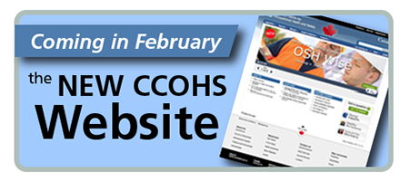 CCOHS new website is coming in February