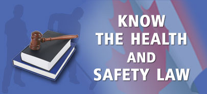 Know the health and safety law