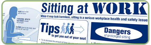 Sitting at Work Tips to download