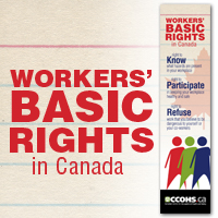Workers' Basic Rights in Canada bookmark