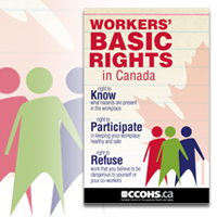 Download Workers' Basic Rights in Canada poster as PDF document