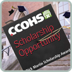CCOHS Scholarship Opportunity