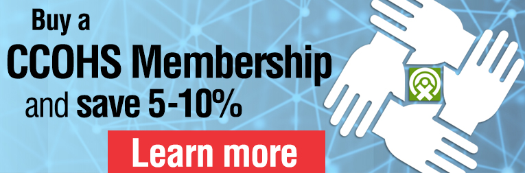 Buy a CCOHS Membership and save 5-10%. Learn more.
