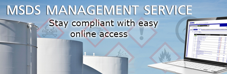 MSDS Management Service. Stay compliant with easy online access