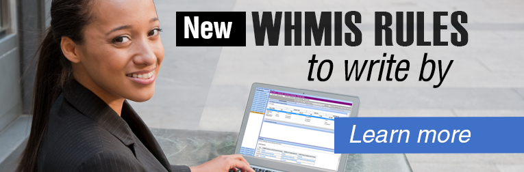 CANWrite collage: New WHMIS rules to write by. Learn more.