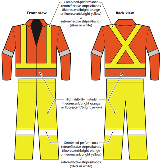 3675364343655 High-Visibility Safety Apparel : OSH Answers