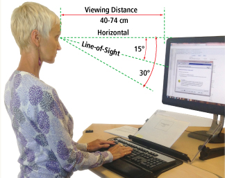 Viewing distance