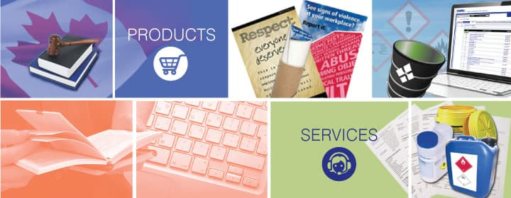 CCOHS: Products and Services