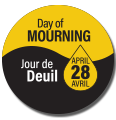 Day of Mourning Commemorative Pin