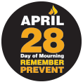 Day of Mourning Sticker (Remember and Commit)