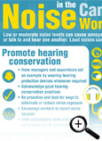 Noise in the Canadian Workplace Fast Facts Card