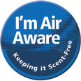 I'm Air Aware Button