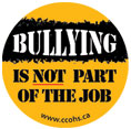 Bullying is Not Part of the Job Sticker
