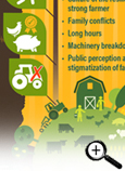 Farming Mental Health in Canada Fast Facts Card