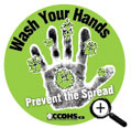 Handwashing Sticker