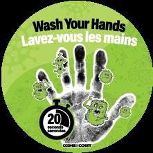 Handwashing Sticker