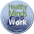 Healthy Minds at Work Button