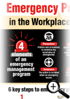 Emergency Preparedness in the Workplace Infographic