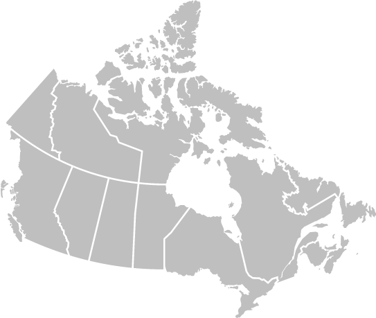 Canada's map