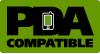 PDA Compatible