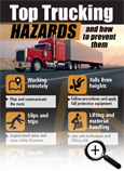 Top Trucking Hazards Fast Facts Card