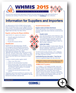 Picture: Information for Suppliers and Importers