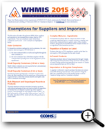 Picture: Exemptions for Suppliers and Importers