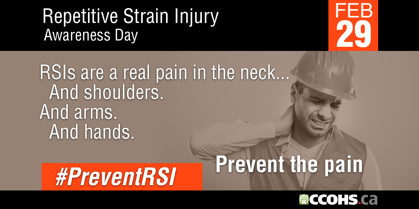 RSI Awareness Day - card 4