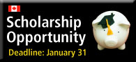 Scholarship Opportunity