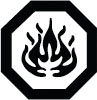 Caution Flammable