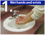 Wet Hands and Wrists
