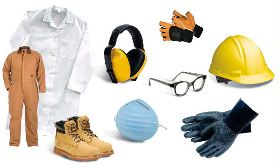 Type of PPE