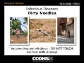 Infectious Diseases - Needles